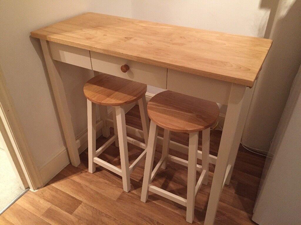 John Lewis Adler Breakfast Bar Table Amp Stools In