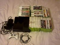 Xbox 360 250gb with tons of games
