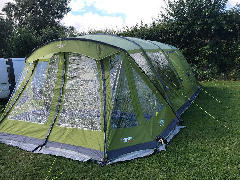 Vango Taiga 600xl Air Beam Tent In Queensbury West