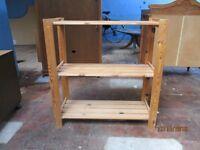 Pine Shelf Rack