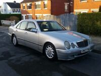 2001 MERCEDES E320 CDI TURBO DIESEL, FULL MOT - P/X, TRADE INS, SWAPS WELCOME - DELIVERY AVAILABLE