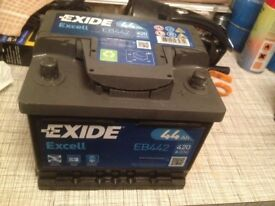 Car battery exide(063 type 44AH/12v) £6 discount read ad!