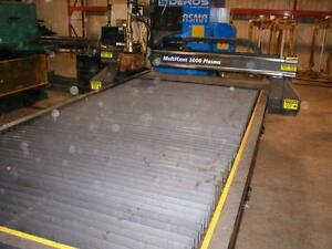 "Table Plasma CNC 60"" x 120"" - MultiCam 3-204-P"