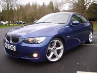 BMW 335D M-SPORT COUPE * TWIN TURBO * 285 BHP * PADDLE SHIFT * M3 M5 GTI R32 ST RANGE ROVER AMG