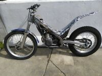 Sherco 290, 2004 trial's bike