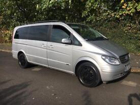 Mercedes Viano 2.2 Cdi Ambiente Estate Diesel Auto Mpv Traveliner * vito mpv leather dvd tables