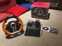 Pc steering wheel Drift O.Z with pedals