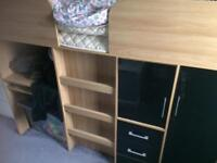 Kids cabin bed with storage buyer to dismantle