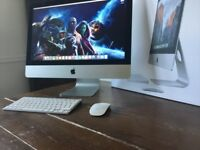 "21"" iMac 2.7GHz Quad Core i5- 8GB Ram- 1TB Hard Drive- Boxed Like New"