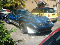 SUPERCHARGED STINGRAY T/ TOPS REMOVABLE ONE MEAN MAMA