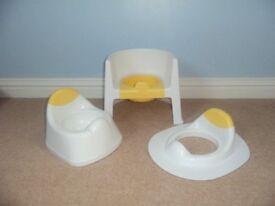 Potty training set