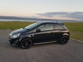 Vauxall corsa, black 1.3 ecoflex, £20 road tax,MOT until may 2019