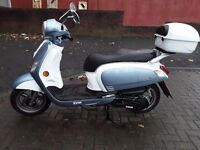 Sym Fiddle 125cc, **SAVE £550 ** FINANCE & CBT ARRANGED**