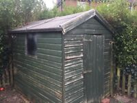 WOODEN GARDEN SHED FOR SALE