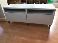 IKEA Besta TV Stand with drawers for sale