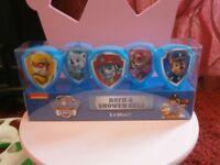 paw patrol bath set