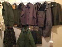 Various Men's Outdoor Jackets