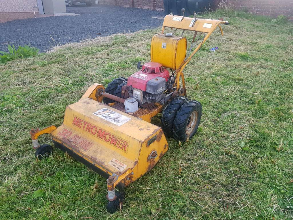 Turner metro-mower 30 pedestrian flail mower with today engine | in  Motherwell, North Lanarkshire | Gumtree