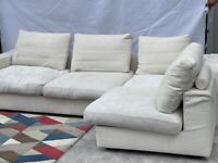 Minotti Italian Designer Corner Sofa - RRP £15,329