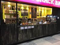 Snack bar - Juice bar - Cafe for sale