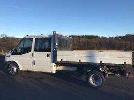 2012/62 FORD TRANST TIPPER 125 bhp LOW MILEAGE