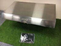Ex Display Wolf Extractor Pro Wall Hood and Motor Sub Zero appliance INC VAT