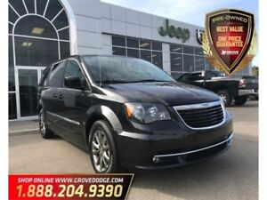2016 Chrysler Town & Country S| Low KM| Heated Seats| DVD Player