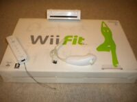 Wiifit and balance board