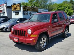 2007 Jeep Liberty Sport-Low km-certified