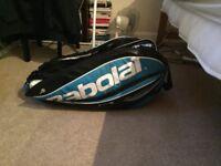 babolat pure drive tennis bag blue 12 pack