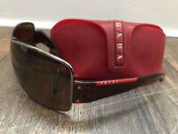 Mens sunglasses: Prada, Stussy, Diesel