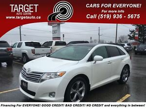2010 Toyota Venza Loaded; Leather, Pano, AWD and More !!!!