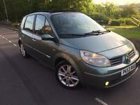 2003 53 Renault Megane scenic 1.9 dci 120 bhp 6 speed Mpv # pan glass roof , cheap ins# full mot