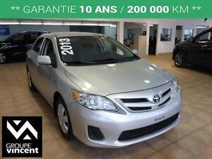 2013 Toyota Corolla **SIÈGES CHAUFFANTS**