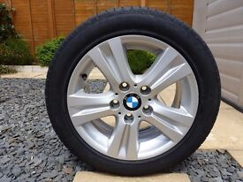 16 Inch/7J; BMW OEM Alloy Wheel, Style 222 E87 E88 E81 E82 with Pirelli Tyre