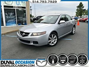 2004 Acura TSX CUIR + TOIT OUVRANT + SIÈGES CHAUFFANT + MAGS