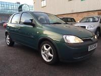 2003 Vauxhall Corsa Gls 1.2 16V HPI CLEAR Full Service History