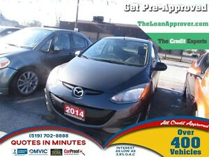 2014 Mazda MAZDA2 GX * CAR LOANS FOR ALL CREDIT SITUATIONS