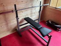 Body-Solid PowerCentre Combo Bench with Attachments