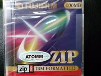 Brand new Fujifilm 100MB IBM Formatted Zip Disk
