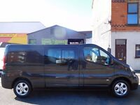 Finance Available & NO VAT! Vauxhall Vivaro 2.0CDTi Sportive LWB 6 seat factory fitted crew cab (8)