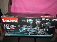 makita 18v DLX6012PM EMPTY BOX ONLY,NO TOLLS OR ACCESORIES