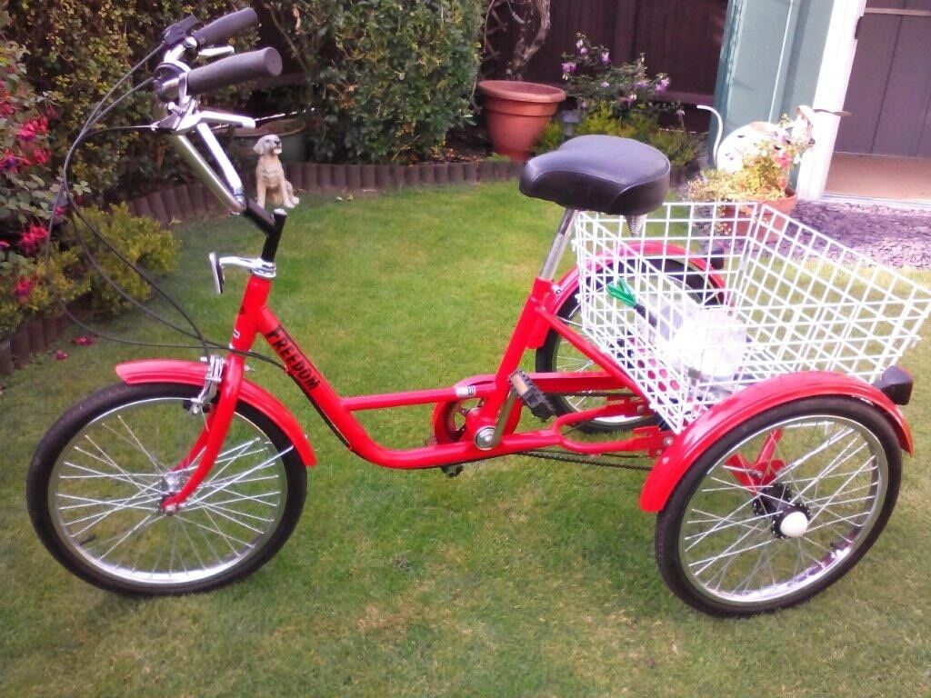 Ladies Women S Freedom Tricycle Bicycle In Newport