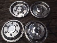 EURO LINERS 020 CHROME WHEEL TRIMS x 4 FOR SALE 100 pounds