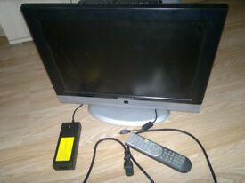 For sale LCD TV Matsui M19LID618 + Remote for spare / repair