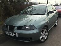 Seat Ibiza 1.2 SX 2004 + FULL SERVICE HISTORY + 12 MONTHS MOT + LOW MILES
