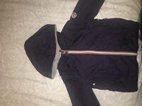 Moncler navy jacket