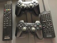 PlayStation 2 controllers & remote & PS3 remote