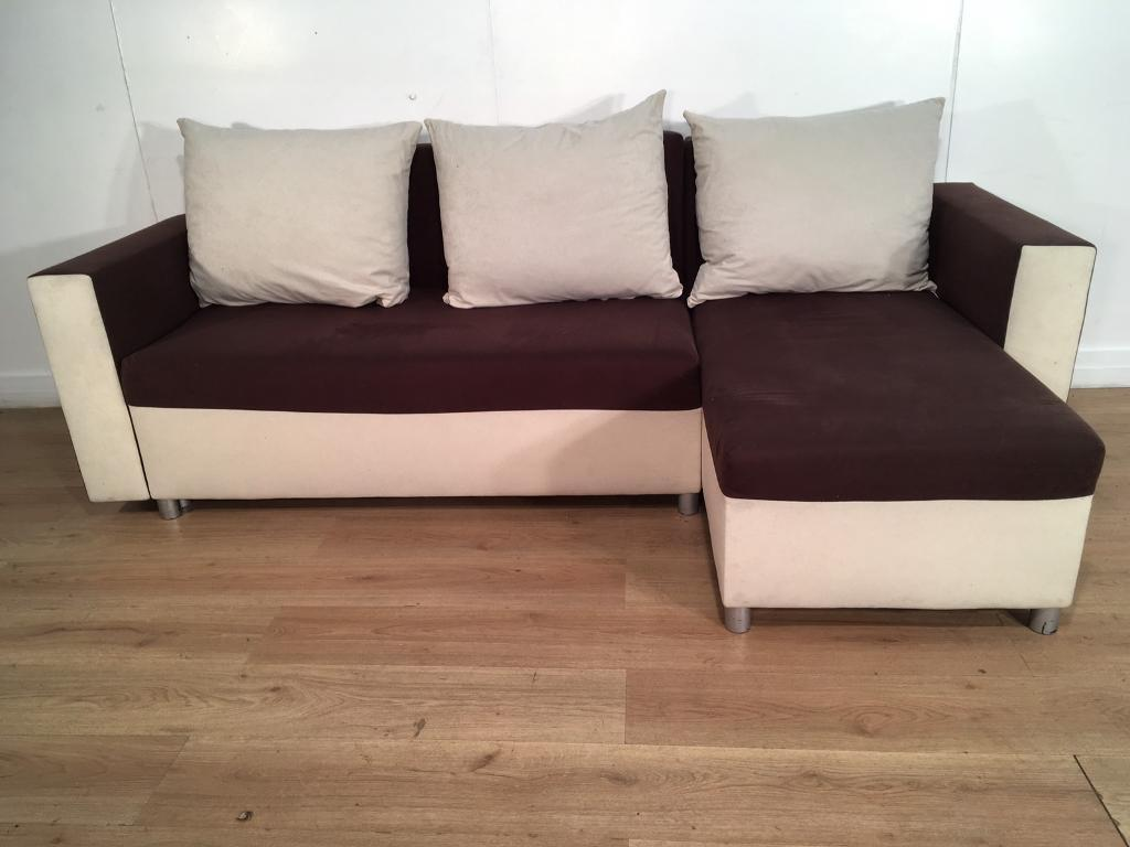 Very nice corner sofa bed with free delivery within 10 ...