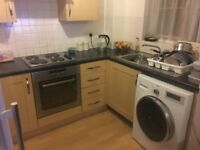 SINGLE ROOM AVAILABLE to rent in a clean 2 bedroom flat. Very quiet area, secured and gated.